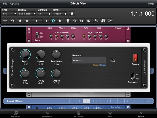 Flanger AUv3 Plugin screenshot 6