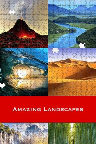 World Landscape Puzzles - náhled