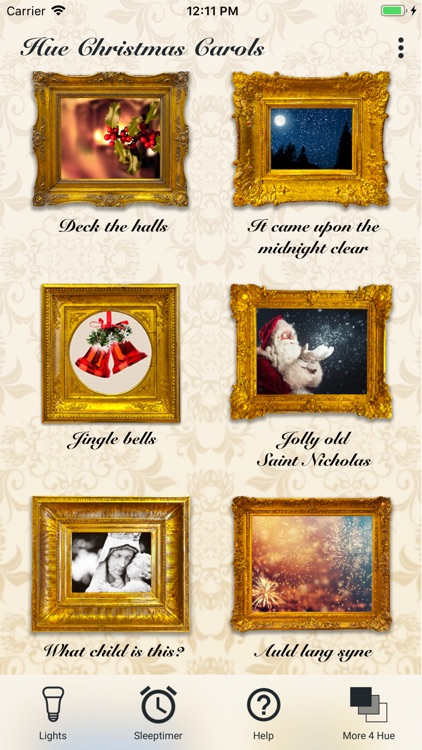 Hue Christmas Carols Advent screenshot-3