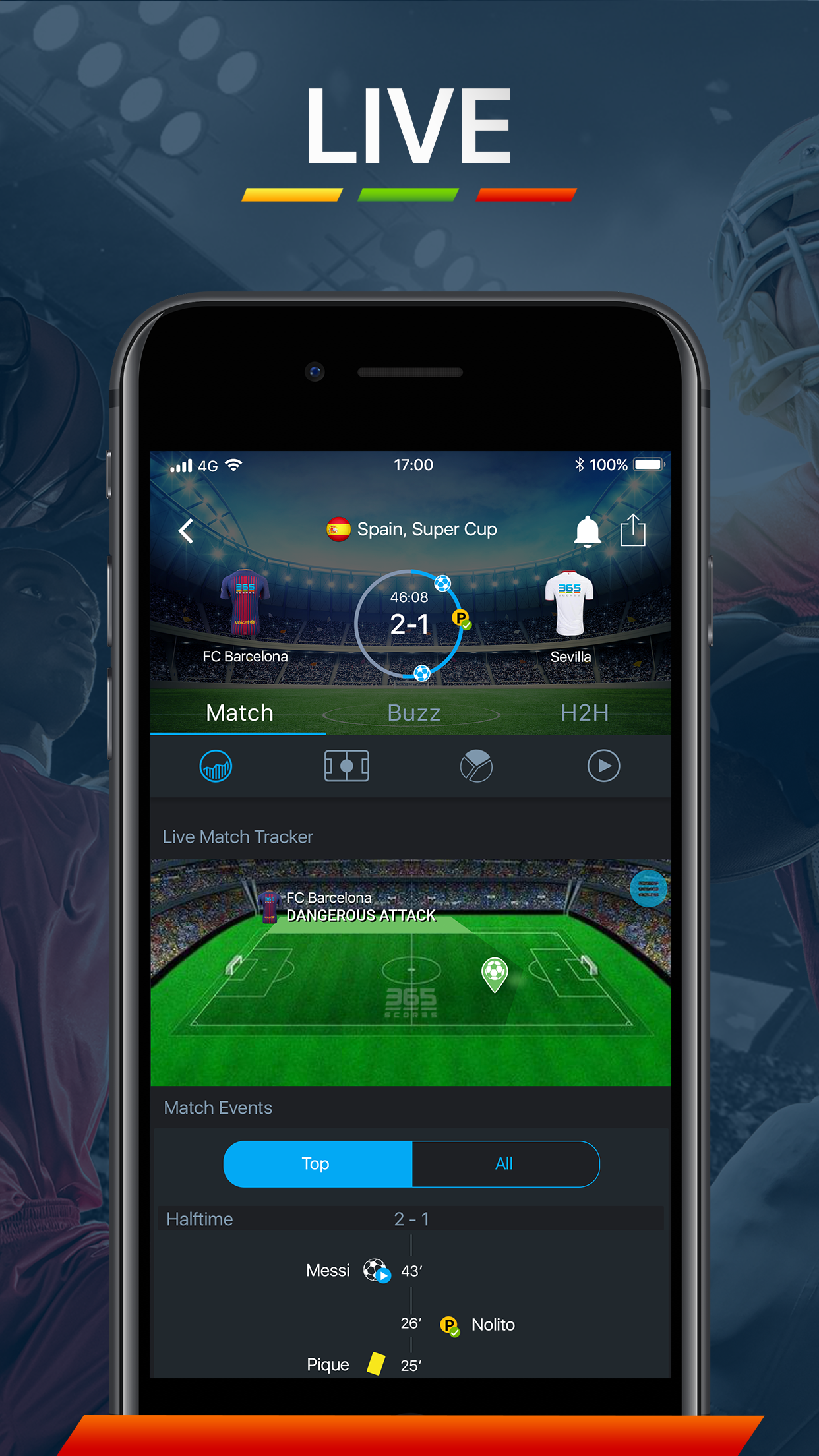 365Scores - Live Scores Screenshot
