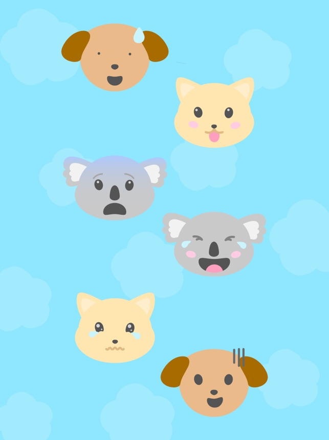 Animal Moji - Cute Pet Emojis Screenshot