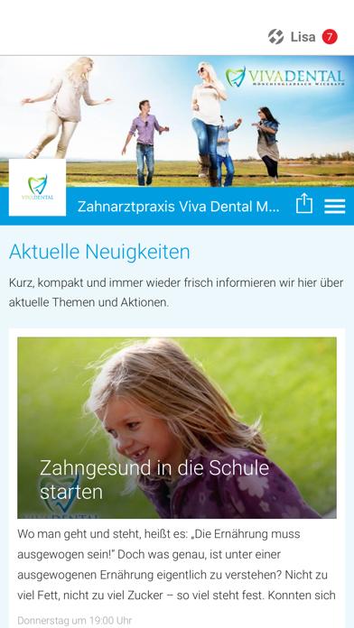 Zahnarztpraxis Viva Dental screenshot one