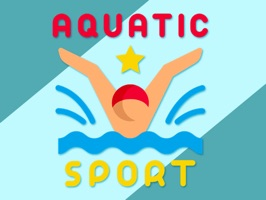 Aquatic Swimming Stickers - beautifully designed aquatic emojis and stickers to make your texting fun