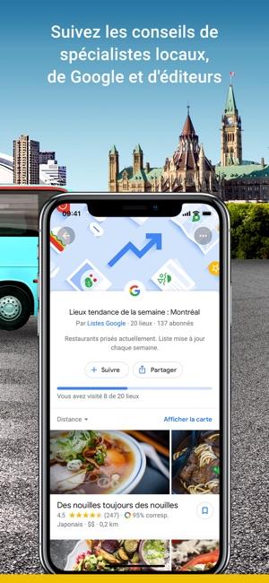 Google Maps Dans LApp Store