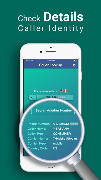 Caller ID-Phone number tracker by AMINUL ISLAM (iOS, United