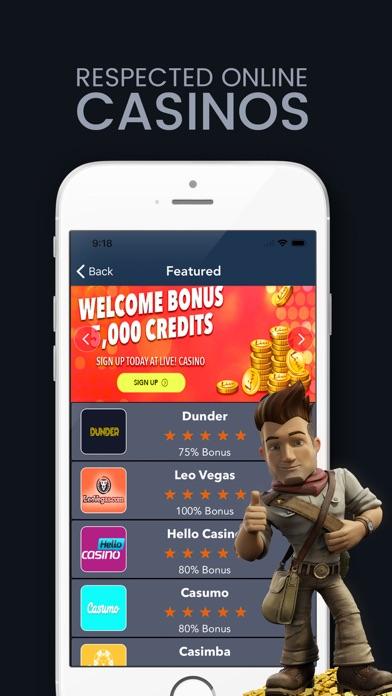 OnlineCasinos screenshot one