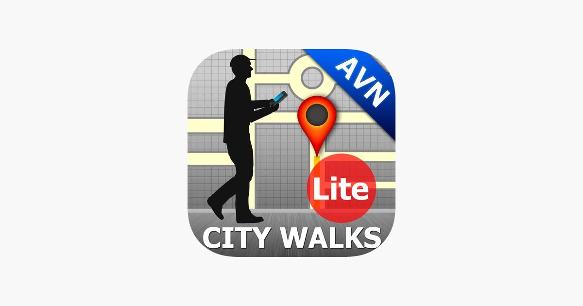 app store avignon map and walks. Black Bedroom Furniture Sets. Home Design Ideas