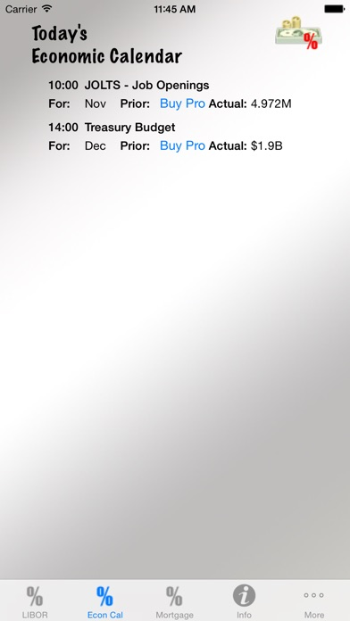 Interest Rate Tracker Скриншоты6