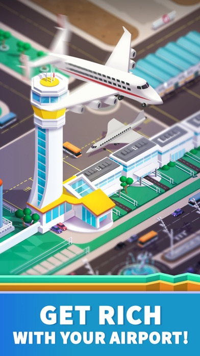 Idle Airport Tycoon - Planes Screenshot 2