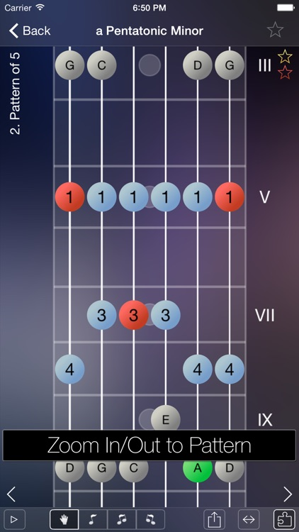Star Scales Pro For Guitar
