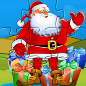Puzzle for Santa - Christmas Gift HD Puzzles for Kids and Toddler by Tiltan Games icon