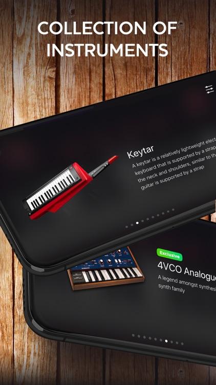 Piano keyboard - music maker
