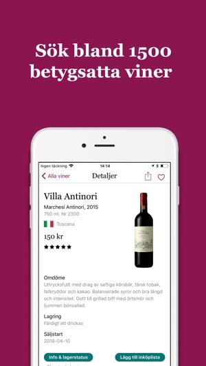 allt om mat vin app