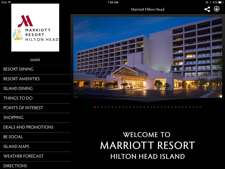 Hilton Head Marriott Resort screenshot-0