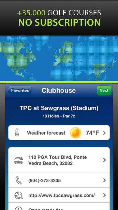 Mobitee Golf Gps And Score review screenshots