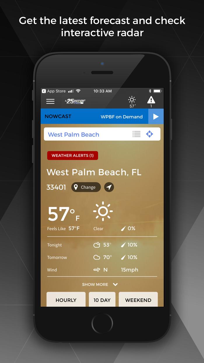 WPBF 25 News - West Palm Beach Screenshot