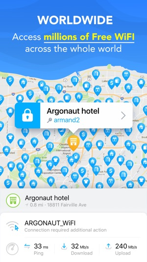 Wifi map get free internet on the app store gumiabroncs Images