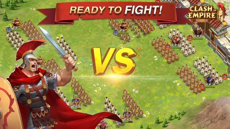 Clash of Empire - MMORTS Game