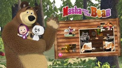 Screen Shot Masha and the Bear Games 1
