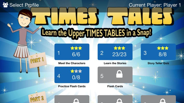 Times Tales Mobile