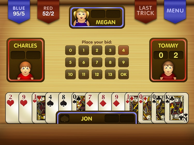 Spades HD! screenshot-3