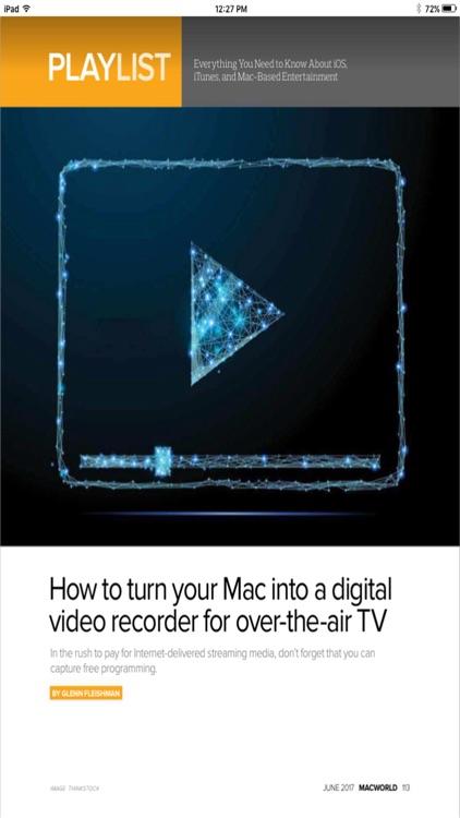 Macworld Digital Magazine U.S. screenshot-4