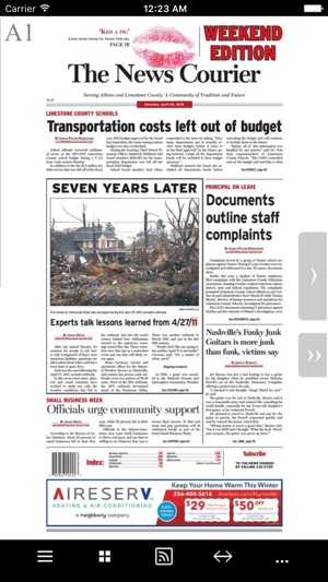 News-Courier- Athens, AL on the App Store