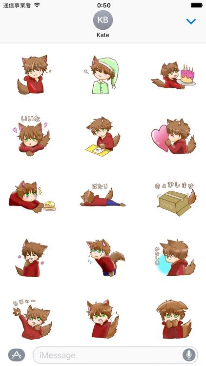 Kawaii Kemono Sticker