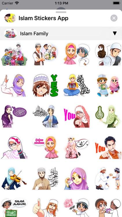 Islam Stickers App screenshot-3