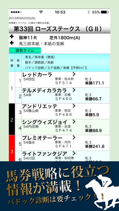 競馬デイリー馬三郎 競馬予想・情報アプリ~デイリースポーツ~ ScreenShot1