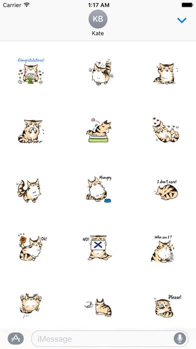 screenshot 3 for maine coon cat mainemoji emoji sticker
