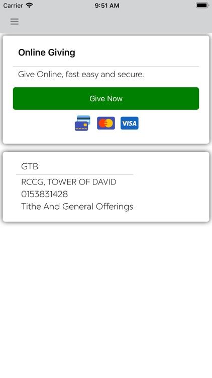 Rccg Tower of David screenshot-8