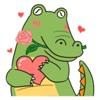 Cute Crocodile Emoji Sticker Reviews
