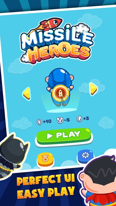 Screenshot for Hero Vs Missiles in Czech Republic App Store