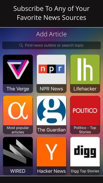 Motoread – Speed Listen to News Articles & YouTube screenshot-3