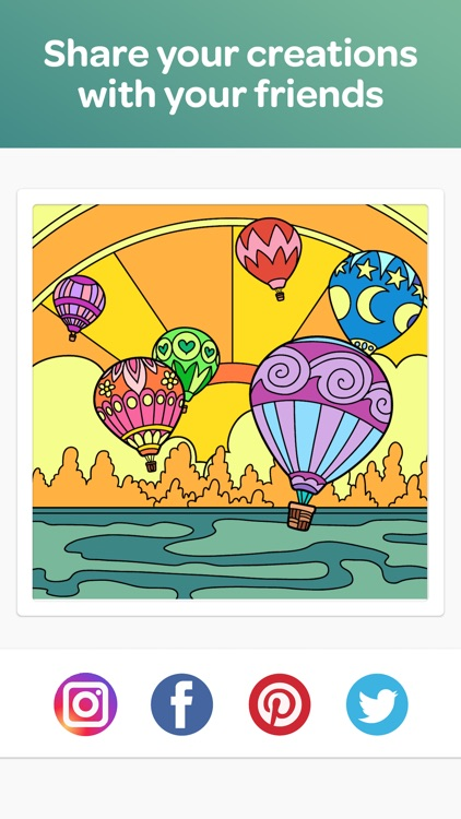 Colorfull - Calm Coloring Book screenshot-3