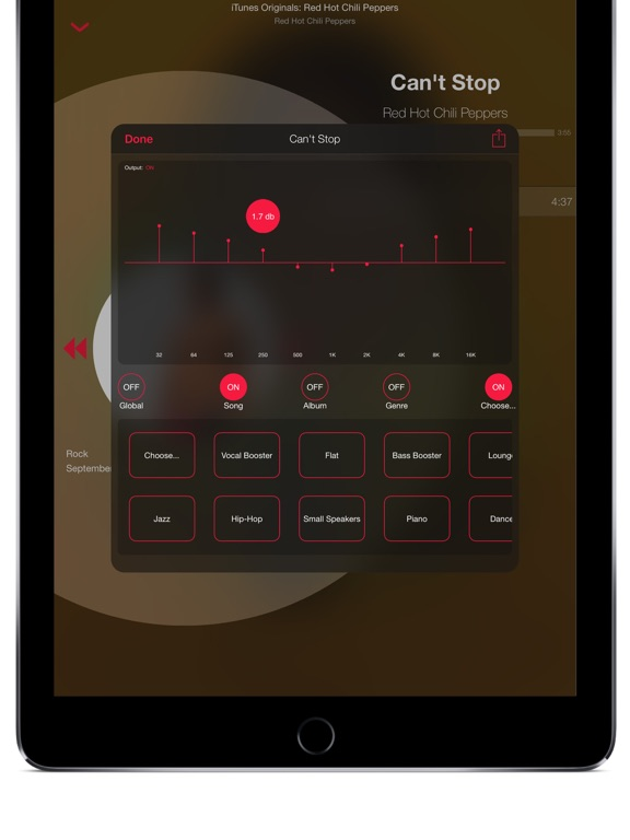 TunesFlow - Sleek Music Player with Equalizer screenshot