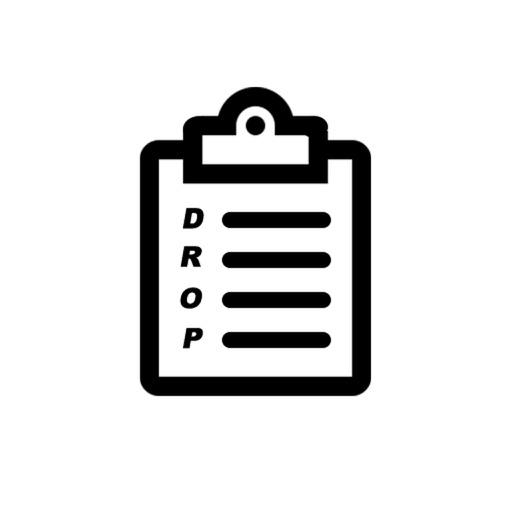 Droplist iOS App