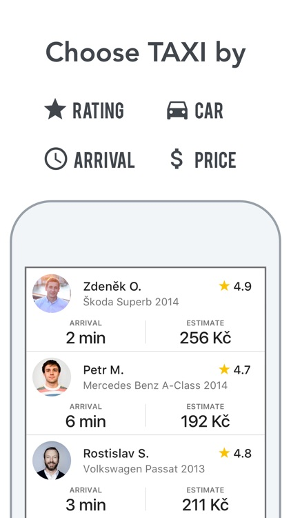 Liftago Taxi screenshot-1