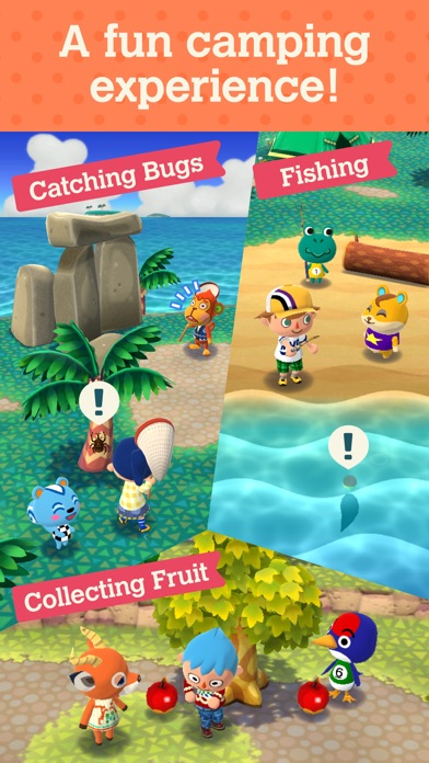 Animal Crossing: Pocket Camp screenshot #3