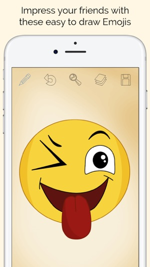 How To Draw Emojis Emoticons On The App Store