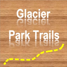 Glacier NP Hiking Trails GPS