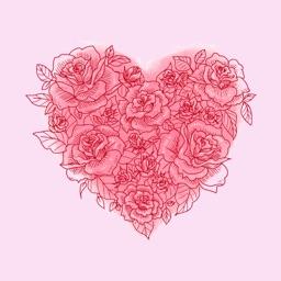 Romantic In Love Stickers
