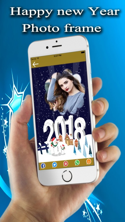 New Year Photo Frames 2018 screenshot-3