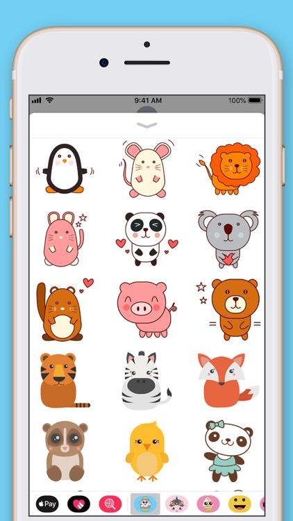 Cute Animals Kawaii Stickers