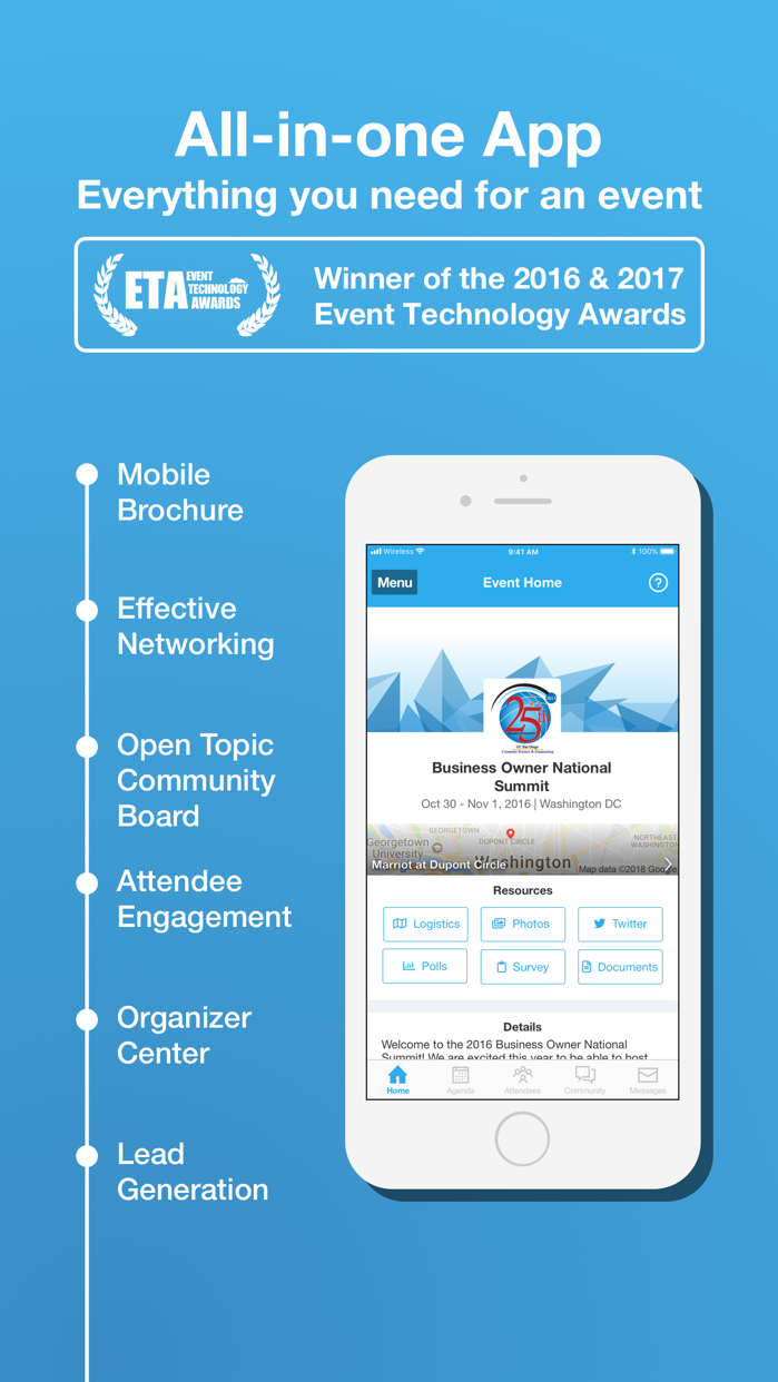 Whova - Event Guide+Networking Screenshot