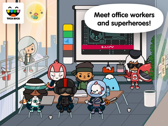 Toca Life: Office screenshot #4