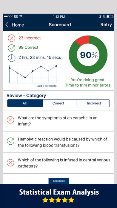 Nursing Exam Prep 2017 screenshot four