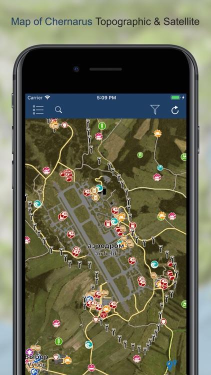 iZurvive - DayZ Map