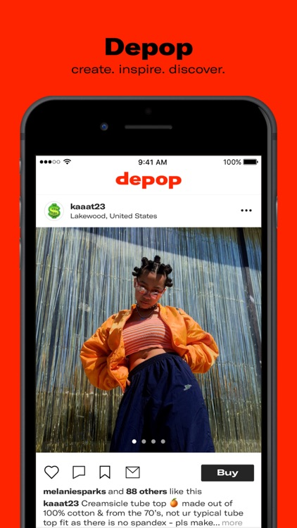 Depop - Shop. Unique. Clothing screenshot-0